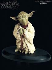 Attakus Star Wars Elite Collection Yoda 2 Statue New