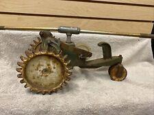 Vintage Cast Iron Lawn Sprinkler Tractor