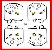 KR 4 x Carburetor Carb Rebuild Repair Kit HONDA GL 1100 Goldwing 80-83 Set