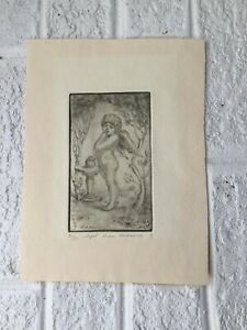 Armen Kankanian Signed and Numbered 31/50 Art Print Titled ANGEL