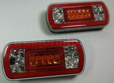 2x 12V/24V LED NEON Glow-track Halo Rear Tail Light Lamp Truck Lorry Trailer HGV