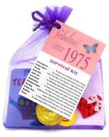 65th 70th 75th  BIRTHDAY PRESENT SURVIVAL KIT FUN NOVELTY GIFT CARD KEEPSAKE