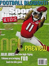 New Sports Illustrated Kids 2017 NFL Preview Julio Jones Falcons No Label +Cards