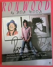 Ron Wood by Ron Wood (1987, Paperback) Autographed