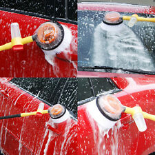 Car Wash Brush Extendable Pole Revolving Care Washing Brush Sponge Cleaning US