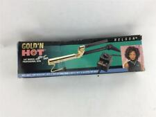 "Gold n Hot 24K Gold Coated 5/8"" Marcel Curling Iron"