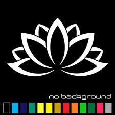 Lotus Flower Sticker Vinyl Decal - Namaste Yoga Plant Car Window Wall Decor Art