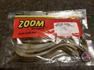 Zoom Bait Company Green Pump Pearl 20 CT Bass Bait Fly Fishing