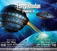 Perry Rhodan NEO - Der Weg nach Achantur / Der Kopf der Schlange, 2 MP3-CDs 2 MP