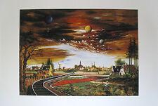 Franz Radziwill Bahnlinie Borgstede - Vard Poster Kunstdruck Bild 60x80cm
