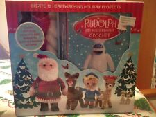 Crochet Kit Rudolph the Red Nosed Reindeer & Santa & Instruction Book Create 12