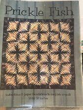 Prickle Fish by Karen K. Stone - Quilt pattern - Unused.