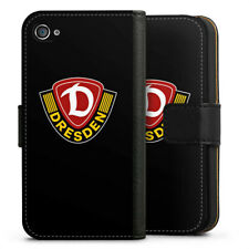 Apple iPhone 4 bolso funda flip case-dinamo negro