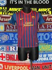 5/5 Barcelona Chicos 12/13 Años 152-158cm Mint Camiseta de Fútbol