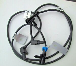 Wheel Speed ABS Sensors Harness For Chevrolet GMC Truck Front Left & Right