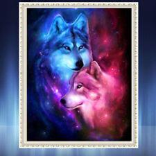 DIY 5D Diamond Painting Home Decor Couple Wolf Cross Stitch Diamond Painting PS