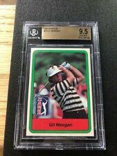 1982 Donruss Golf Gil Morgan #18  (BGS Gem Mint 9.5)  (Tough Card)