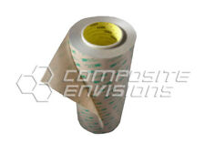"""3M 468MP Double Sided Adhesive Transfer Tape 12"""" Wide Full Roll"""