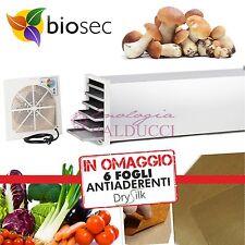 ESSICCATORE BIOSEC DOMUS B12 DELUXE INOX -TAURO ESSICCATORI® + OMAGGIO 6 DRYSILK
