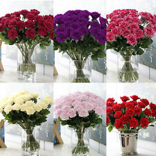 Mini Velvet Rose Spring Artificial Fake Peony Flower Wedding Hydrangea Decor New