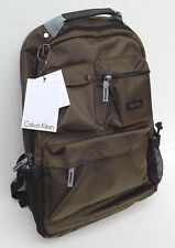 """CALVIN KLEIN FITS UP TO 17"""" LAPTOP BACKPACK MULTI-POCKET LUGGAGE NEW AUTHENTIC"""