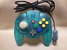 Nintendo 64 Hori Pad Mini 64 controller Ocean Blue Japan N64