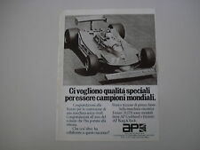 advertising Pubblicità 1979 AP e FERRARI
