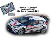 DECALS 1/43 FORD FIESTA RS WRC - #8 F.DELECOUR - RALLYE MONTE CARLO 2012- NCM046