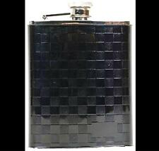 Coyote BLACK CHECKERBOARD Flask Stainless Steel 6oz