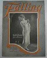 "SHEET MUSIC "" FALLING"" DATED 1922"