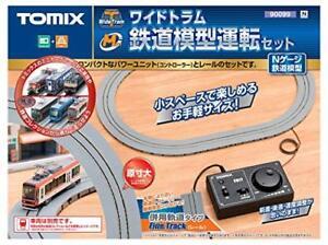 Tomix 90099 Wide Tram Railway Operation Set (Fine Track) (N scale)