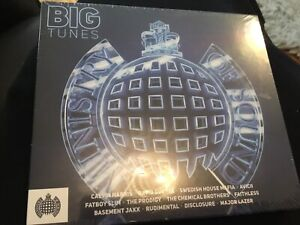 BIG TUNES - MINISTRY OF SOUND 3 CD Brand New & Sealed