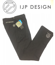 New Ian Poulter Tour Tech Golf Trousers T72 Water Repellent UPF adjustable 28x34
