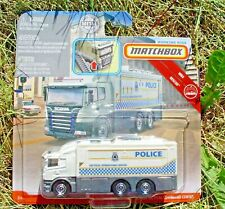 Matchbox 2019 Real Working Rigs. RW047. Police Tactical Operations Center  GBK01