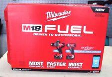 NEW!! Milwaukee 2796-22 M18 Fuel One Key Bluetooth 2 Tool Combo Kit