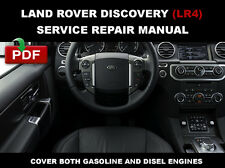 2013 2014 2015 LAND ROVER DISCOVERY 4 LR4 L319 WORKSHOP REPAIR SERVICE MANUAL