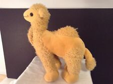 "KING PLUSH CAMEL DOLL 14"" LGTH VGC CUTE 2002"