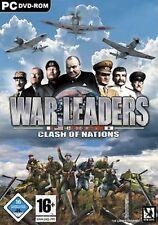 WAR LEADERS CLASH OF NATIONS * RISIKO * Neuwertig