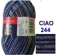 100g CIAO Sockenwolle MERINO SUPERWASH 4-fach Merinowolle Wolle F244 ähnl. REGIA
