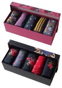 Ladies 10 pack Gift Box Socks Christmas Offer Stocking Filler Gift Mother's Day