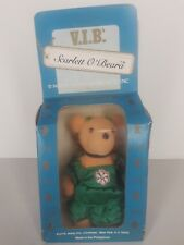"Vib North American Bear Co Kurt Adler Scarlett Obeara Xmas Ornament Box 4"" Tall"