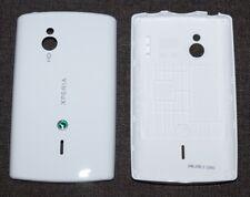 ORIGINALE Sony Ericsson Xperia Mini Pro sk17i COVER POSTERIORE battery cover bianco