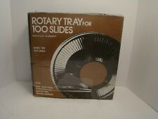 Rotary Tray for 100 2x2 Slides for GAF Sawyers Anscomatic Keystone Sears Wards