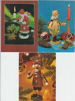 Weihnachten in der DDR ! 3 DDR - Weihnachtskarten !