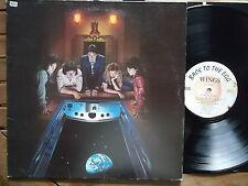 BEATLES Paul McCartney Wings-BACK TO THE EGG LP D 1 C 06462799 OIS