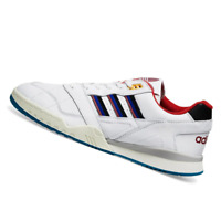 ADIDAS MENS Shoes A.R. Trainer - White, Burgundy & Royal - EE5397