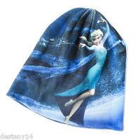 Disney Princess Frozen Elsa Girl's Beanie Hat Cap One Size Fits Most Let It Go