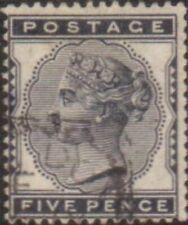 Great Britain 1881 SG169 5d indigo Queen Victoria FU
