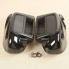 """Lower Vented Fairing W/ 6.5"""" Speaker Box Pod For Harley Touring Glide 2014-2020"""