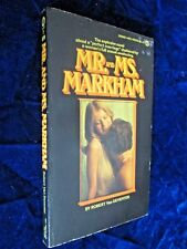 Vintage Signet 451-Y6079 Robert Deventer MR & MRS MARKHAM 1974  1st NF- EROTICA